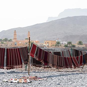 Fliegende Teppiche im Oman