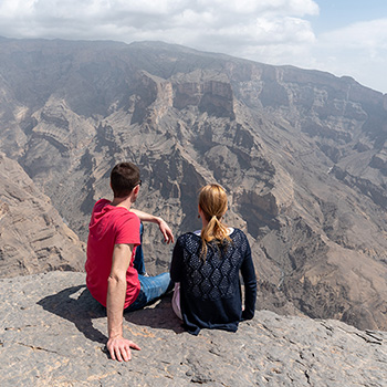 Video Jebel Shams Oman Reise