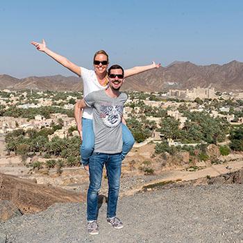 Nizwa und Bahla Fort im Oman