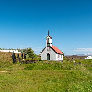 Keldur Turf House Island