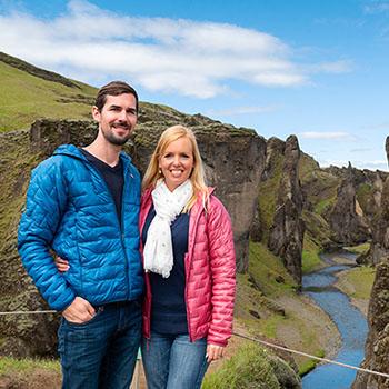 Fjadrargljufur Canyon in Iceland
