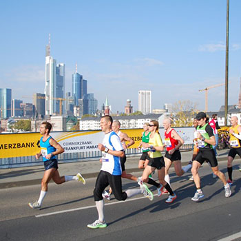 Marathon in Frankfurt am Main 2010