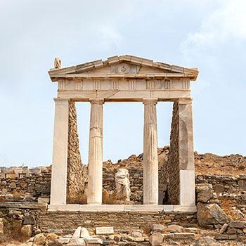 Isistempel auf Delos