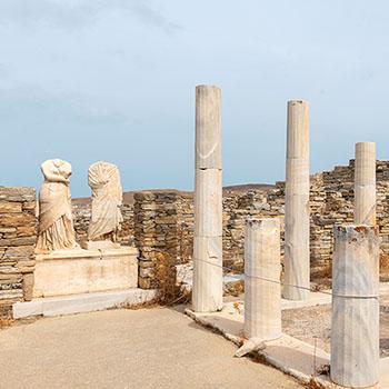 Haus der Kleopatra auf Delos