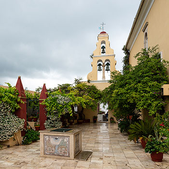 Kloster Paleokastritsa auf Korfu