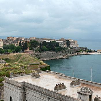 Altes venezianisches Fort auf Korfu