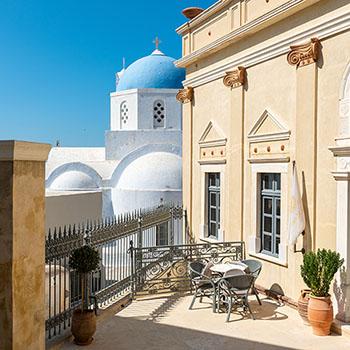 Venezianischer Palazzo in Pyrgos Kallistis