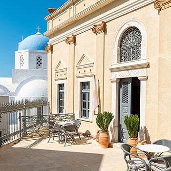 Zannos Melathron Hotel Santorini