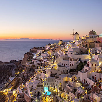 Bester Sunset in Oia auf Santorin