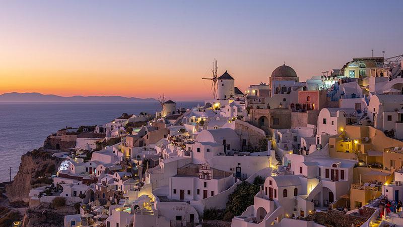 Oia Santorin Sunset