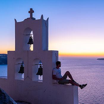 Sunset auf dem Glockenturm