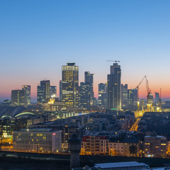 Skyline Frankfurt with Messeturm