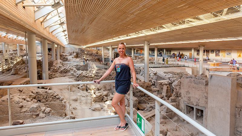 Ausgrabungen von Akrotiri