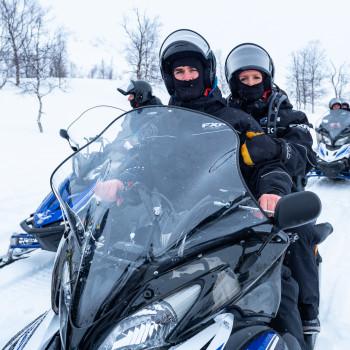 AIDA Aura Schneemobiltour in Tromso