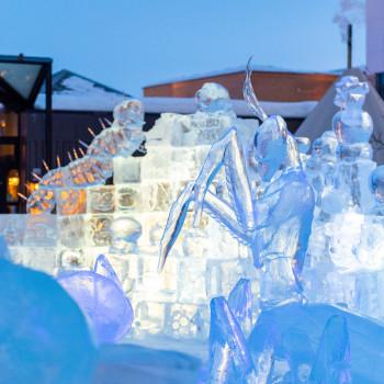 Eiskunst in Alta