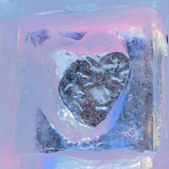 Ein Herz aus Eis