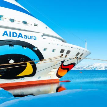 Reisevideo Norwegens schöne Fjorde mit AIDA Aura bei Alta