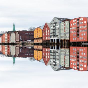 Reisevideo mit AIDA Aura in Trondheim Norwegen