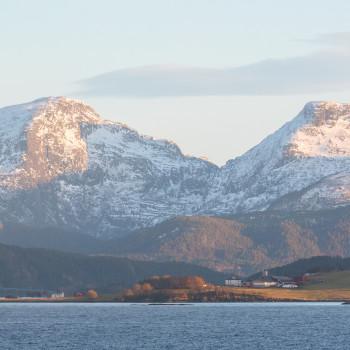 Tolle Berglandschaft in Norwegen