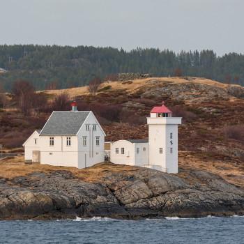 Leuchtturm auf Terningen in Norwegen