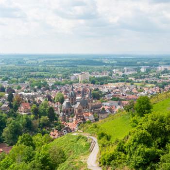 Video der Sehenswürdigkeiten Heppenheim Altstadt und Starkenburg
