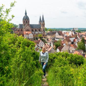 Fotoalbum Heppenheim Altstadt und Starkenburg