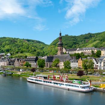 Cochem mit Altstadt und Reichsburg