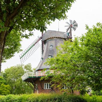 Windmühle Venti Amica auf Föhr