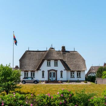 Reetdachvilla am Golfplatz auf Föhr