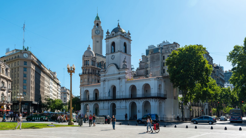 Altes Rathaus in Buenos Aires