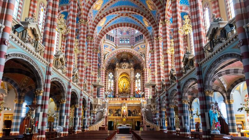 Basilica Maria Auxiliadora und San Carlos