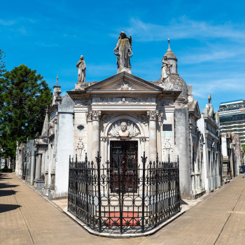 Friedhof La Recoleta in Buenos Aires