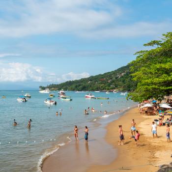 Praia da Armacao auf Ilhabela