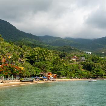 Praia da Ponta Azeda Ilhabela Brasilien