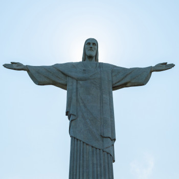 Christusstatue auf dem Corcovado in Rio de Janeiro