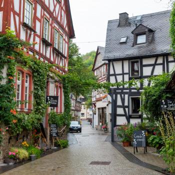 Schönes Fachwerk in der Altstadt von Braubach