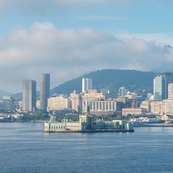 Fiscal Island in Rio de Janeiro