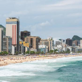 Praia do Leblon in Rio