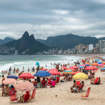Praia de Ipanema in Rio