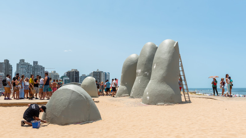 The Fingers of Punta del Este