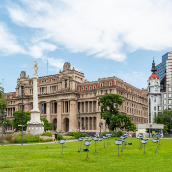 Plaza Lavalle in Buenos Aires