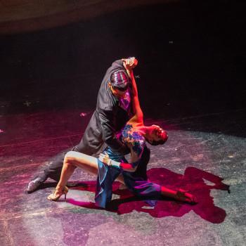 Tänzerpaar bei einer Tango Show in Buenos Aires