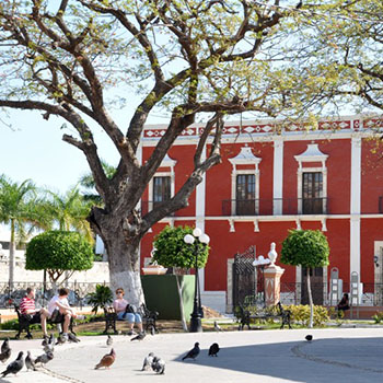 Mexiko Rundreise Altstadt Campeche & Festung