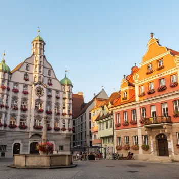Memmingen Old Town & Marketplace