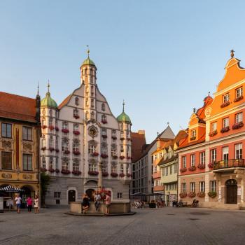 Marktplatz in Memmingen