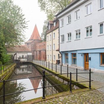 Bettelturm in der Altstadt von Memmingen
