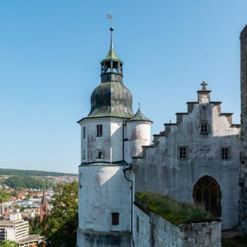 Turm der Burg Hellenstein in Heidenheim