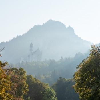 Füssen sowie Schloss Hohenschwangau und Neuschwanstein