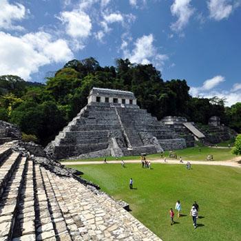 Mexiko Rundreise Palenque & Agua Azul