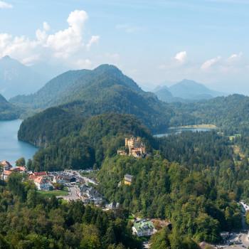 Panoramablick Schwangau